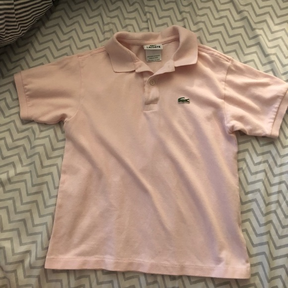 ce13e7b9f02520 Lacoste Other - Boys size 10 Lacoste light pink polo